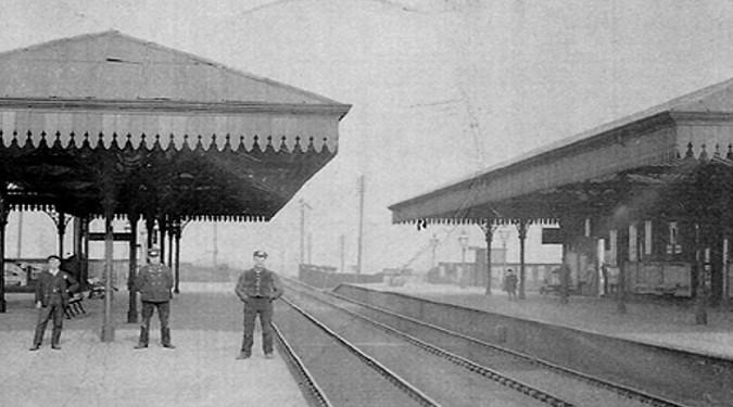 Cadishead Station - courtesy Irlam and Cadishead History Society