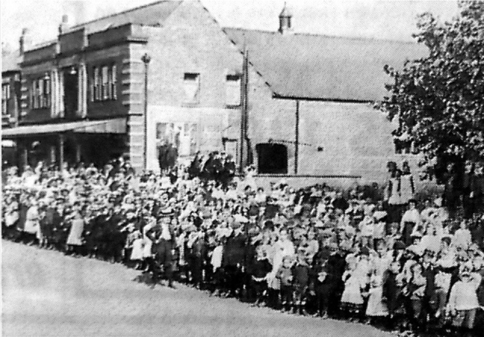 Irlam Picture Palace in its heyday © Salford Local History Library