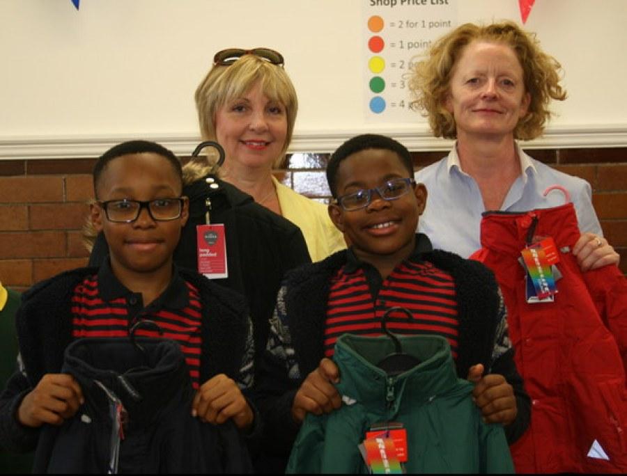 Back to School Shop - Linda Miles BKT and Roseanne Sweeney WSM