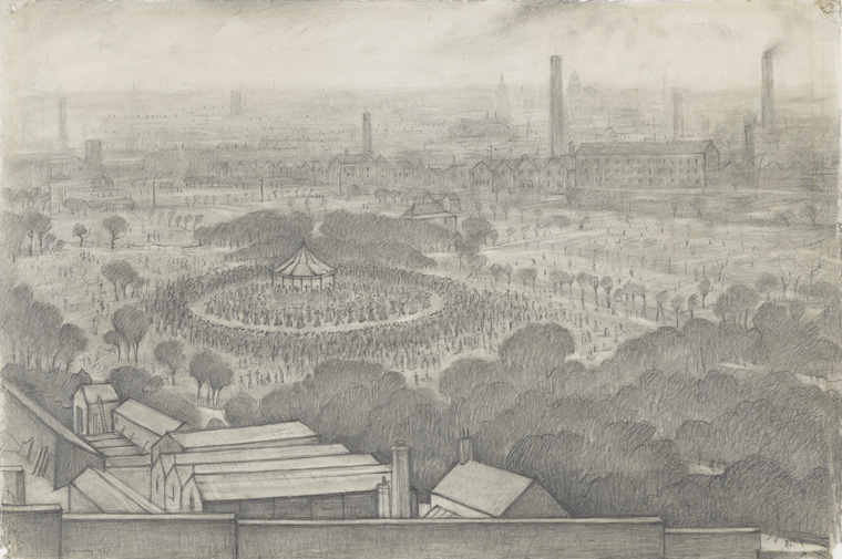 LS Lowry © The Lowry Collection, Salford