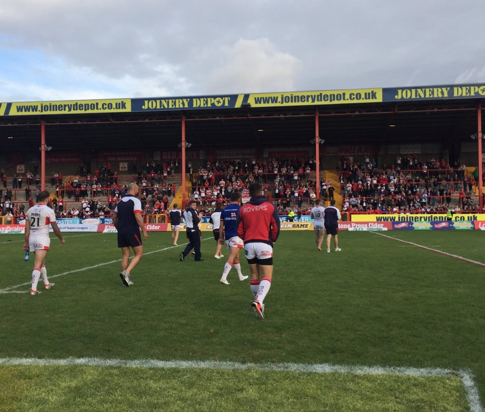 Hull KR left distraught in relegation loss - @hullkronline