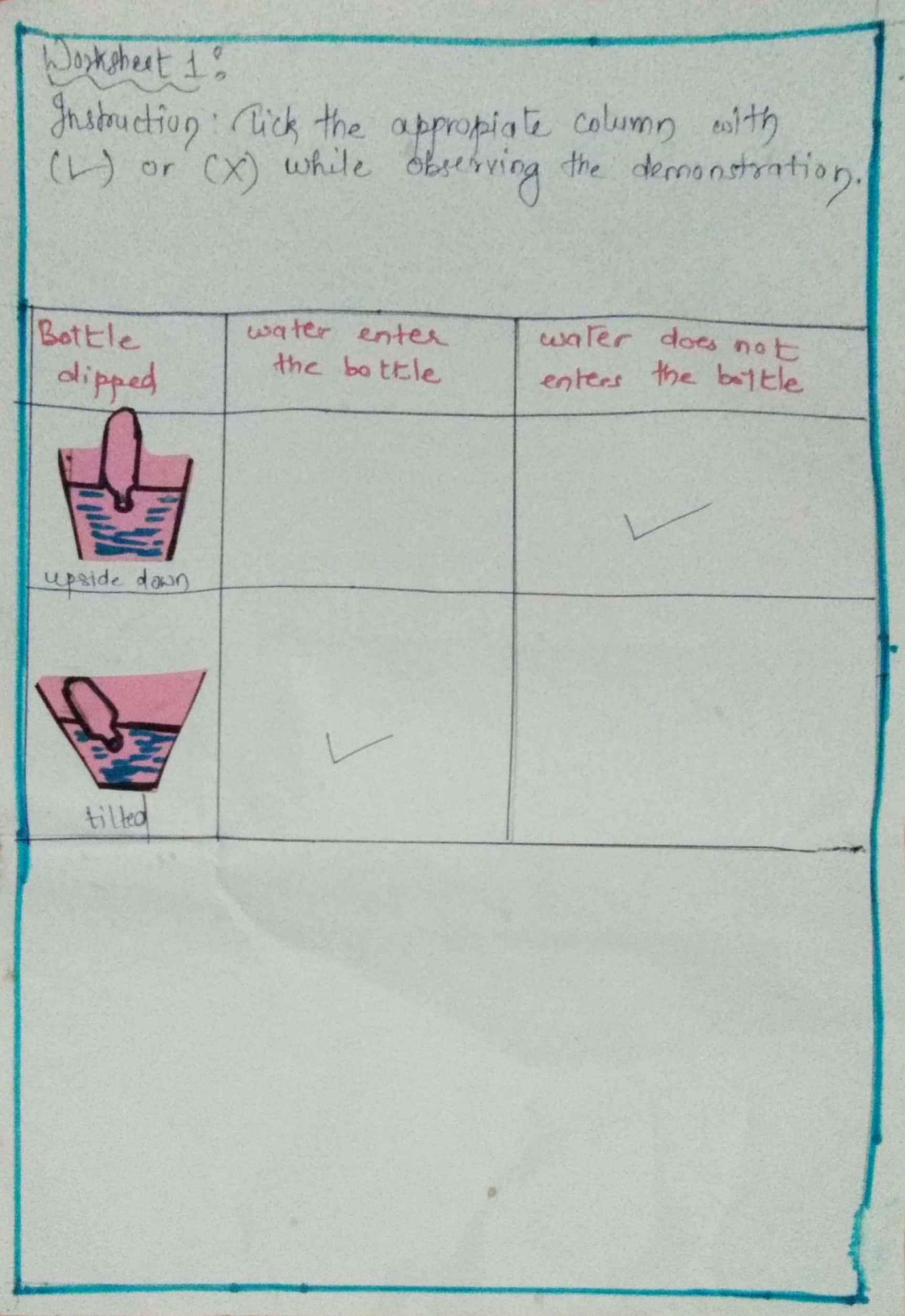 Worksheets On Properties Of Air 2 Science Cubicle