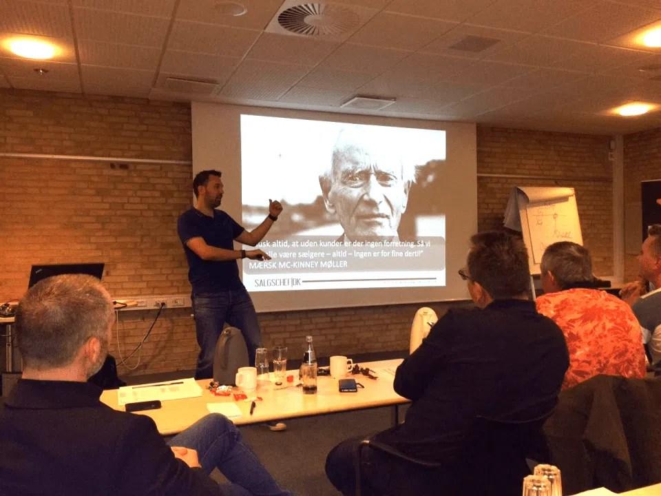 Peptalk og foredrag
