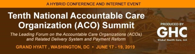 National Aco Summit 2019 Salient Healthcare