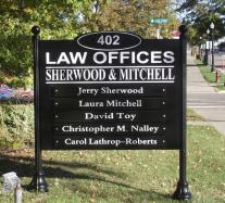 post and panel signs in Royal Oak MI