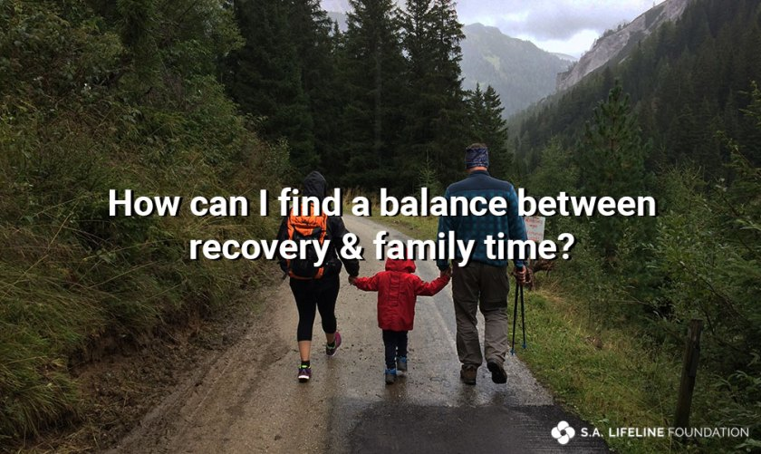 finding balance in recovery