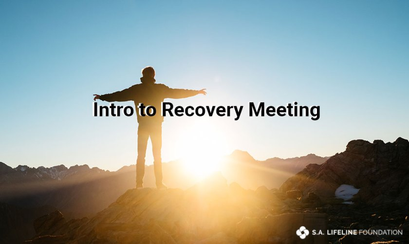 intro to recovery