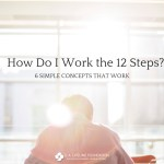 work the 12 steps