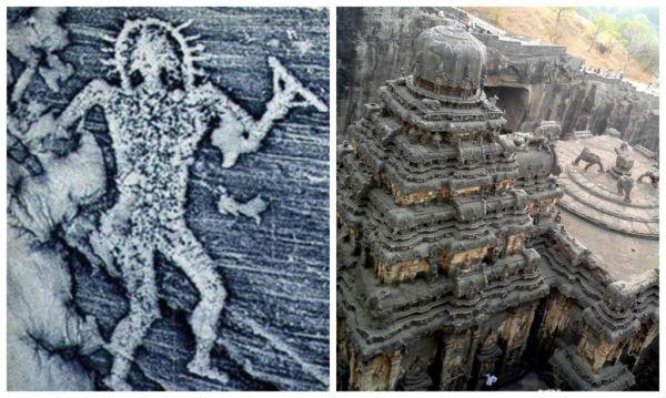 В Индии нашли древние картинки с детальным изображением ...