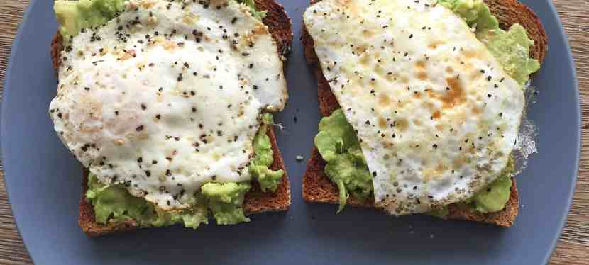 Avocado Toast for My First Post