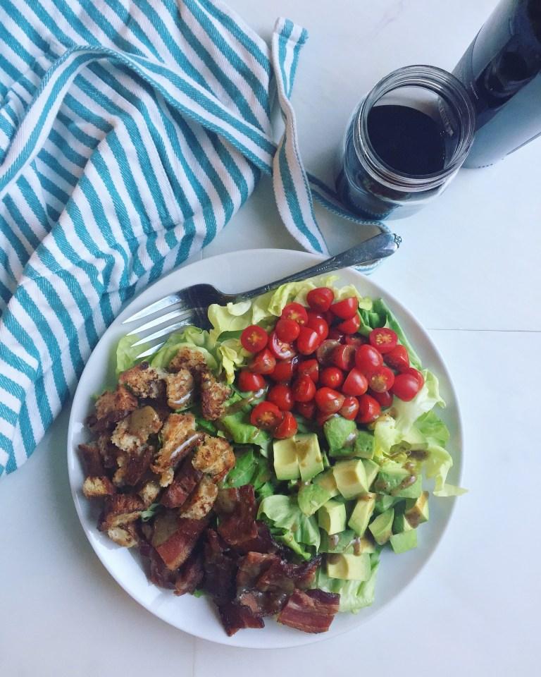 BLAT Salad & Wine