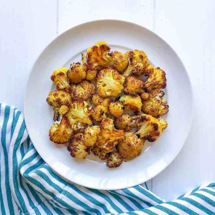 Golden Cauliflower with Ahara Ghee