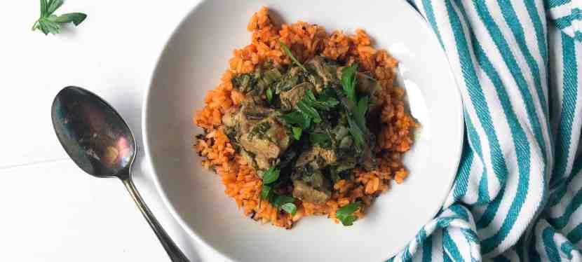 Moroccan Lamb Risotto