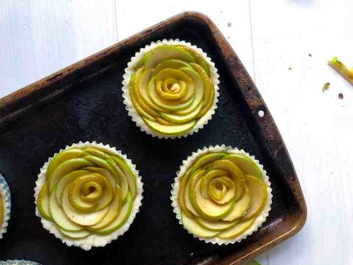 Rose Apple Tarts: The Perfect Gluten Free Fall Dessert