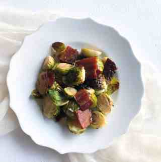 Maple Bacon Brussels Sprouts