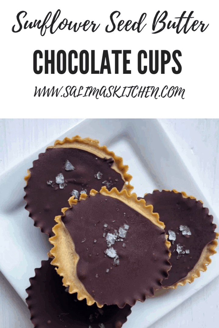 Sunflower Seed Butter Chocolate Cups