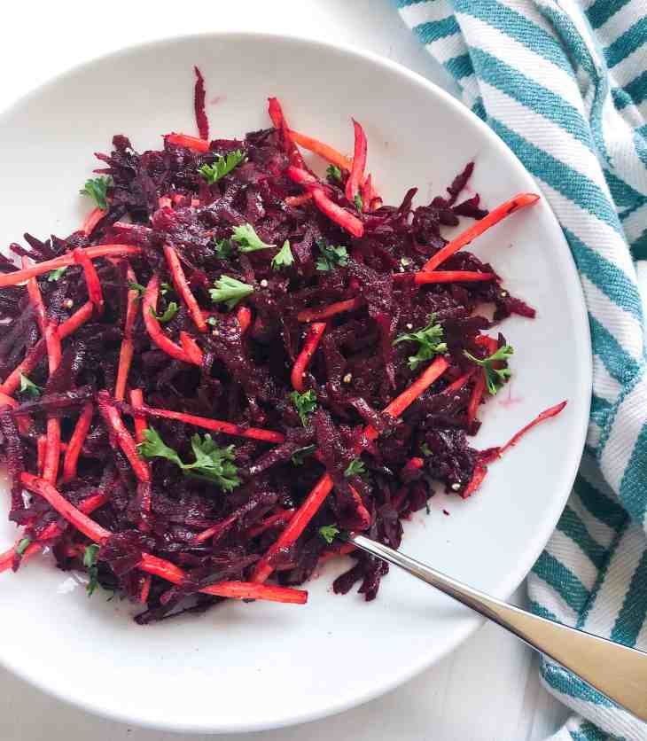 Raw Vegan Moroccan Beet Salad