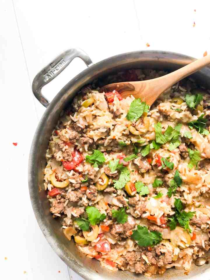 One Pot Empanada Rice