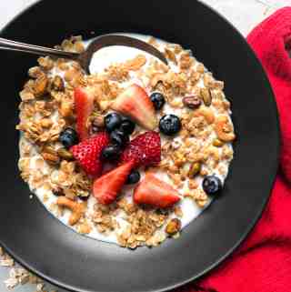 Gluten Free Brown Butter Granola