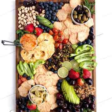 Vegan Charcuterie Board