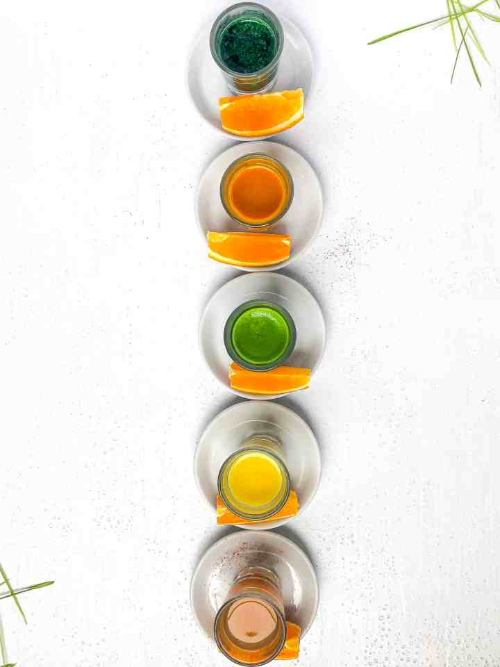 Wellness shots at Stellar Juices.