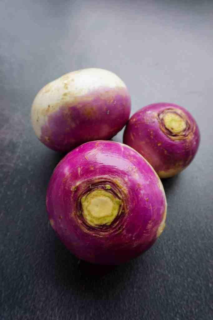 Three turnips.
