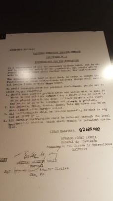 Comunicado de la Armada Argentina
