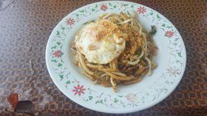 Fried Lotcha, primer plato de Kampot