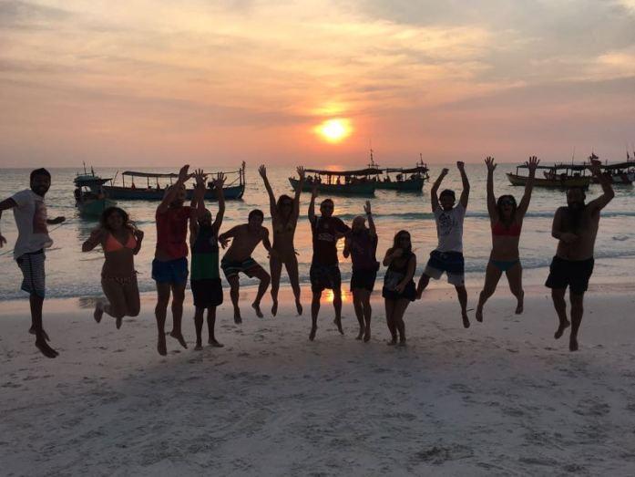 Los amigos de Koh Rong