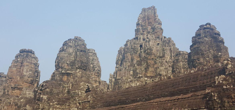 Templo Bayón y sus caras