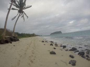 Tiempo de playa en Lalomanu