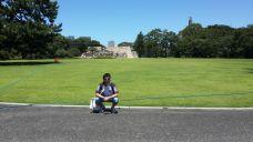 En los vestigios de la Edo Tower