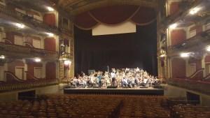 La orquesta en funciones
