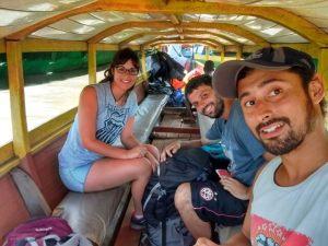 Llegando a Surinam