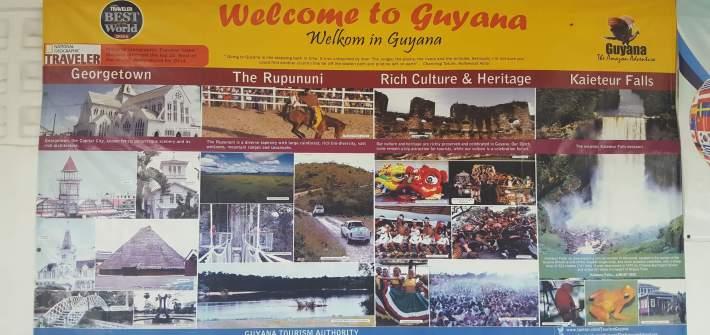 Bienvenido a Guyana