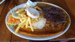 Nuestro almuerzo