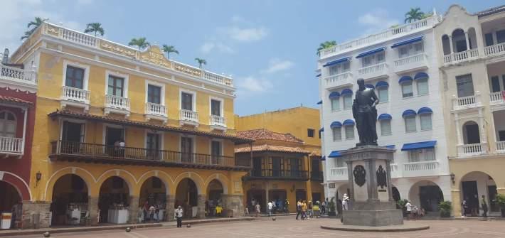 La ciudad amurallada de Cartagena