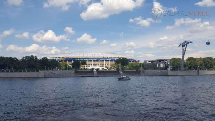 El estadio Luzhniki