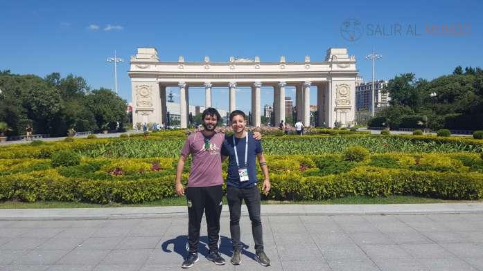 Con mi amigo Nacho