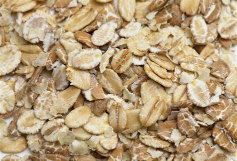 Rolled oats contain a soluble fibre call beta-glucan which may reduce cholesterol levels