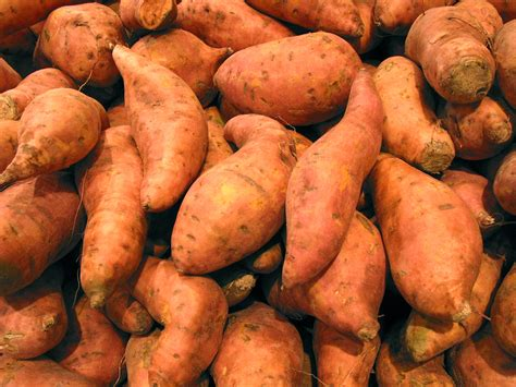 Sweet Potoes are a good source of Vitamin A & C and potassium