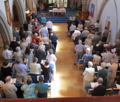 worship at Salisbury URC