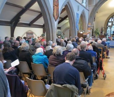 worship at Salisbury URC