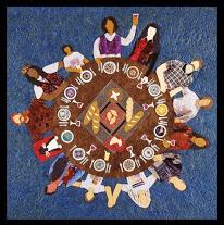 World Communion table