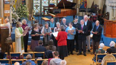 Salisbury URC choir