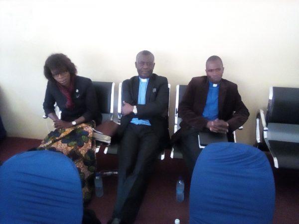 St John's ministry team