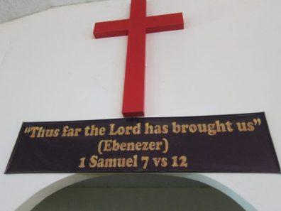 St John's Ebenezer banner