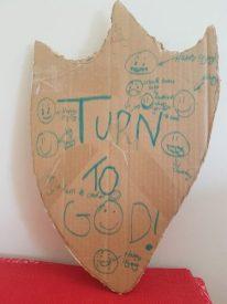 Turn to God shield -- Ashley Fai