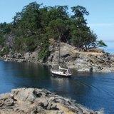Boat Pass at slack water.