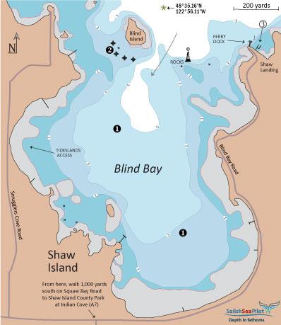 Blind Bay chartlet